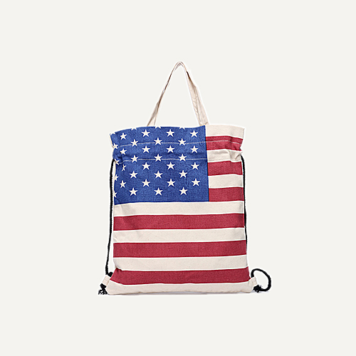 HEY AMERICA FLAGS DESIGNS BAGS FOR WOMEN