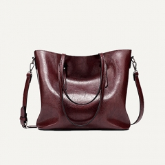 HEY GORGEOUS GREASED LEATHER HANDBAGS FOR WOMEN