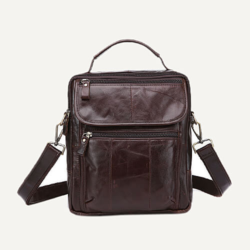 HEY VANTAGE GENUINE LEATHER BRIEFCASE FOR MEN