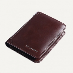 HEY GENUINE LEATHER SHORT-STYLE WALLET FOR MEN